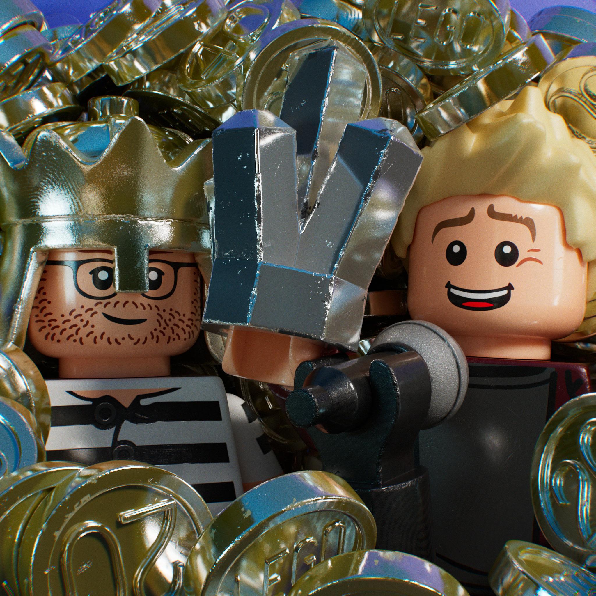 Ep. 4 – Shiny, Chrom-y, Metallic-y: LEGO from 1995