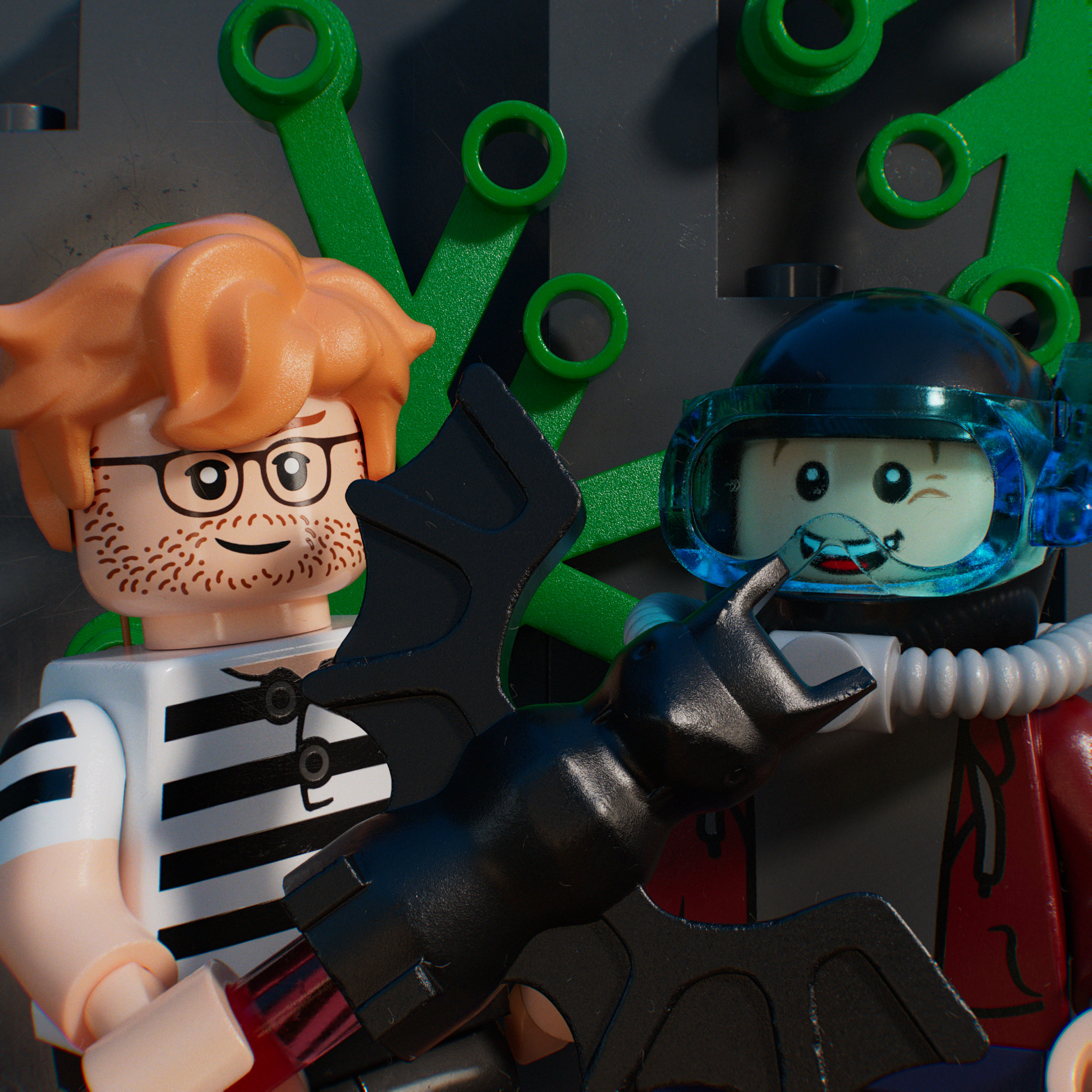 Ep. 6 – Neon Yellow, Fright Knights and deep-sea divers: LEGO from 1997